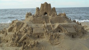 Sept 11, finished castle