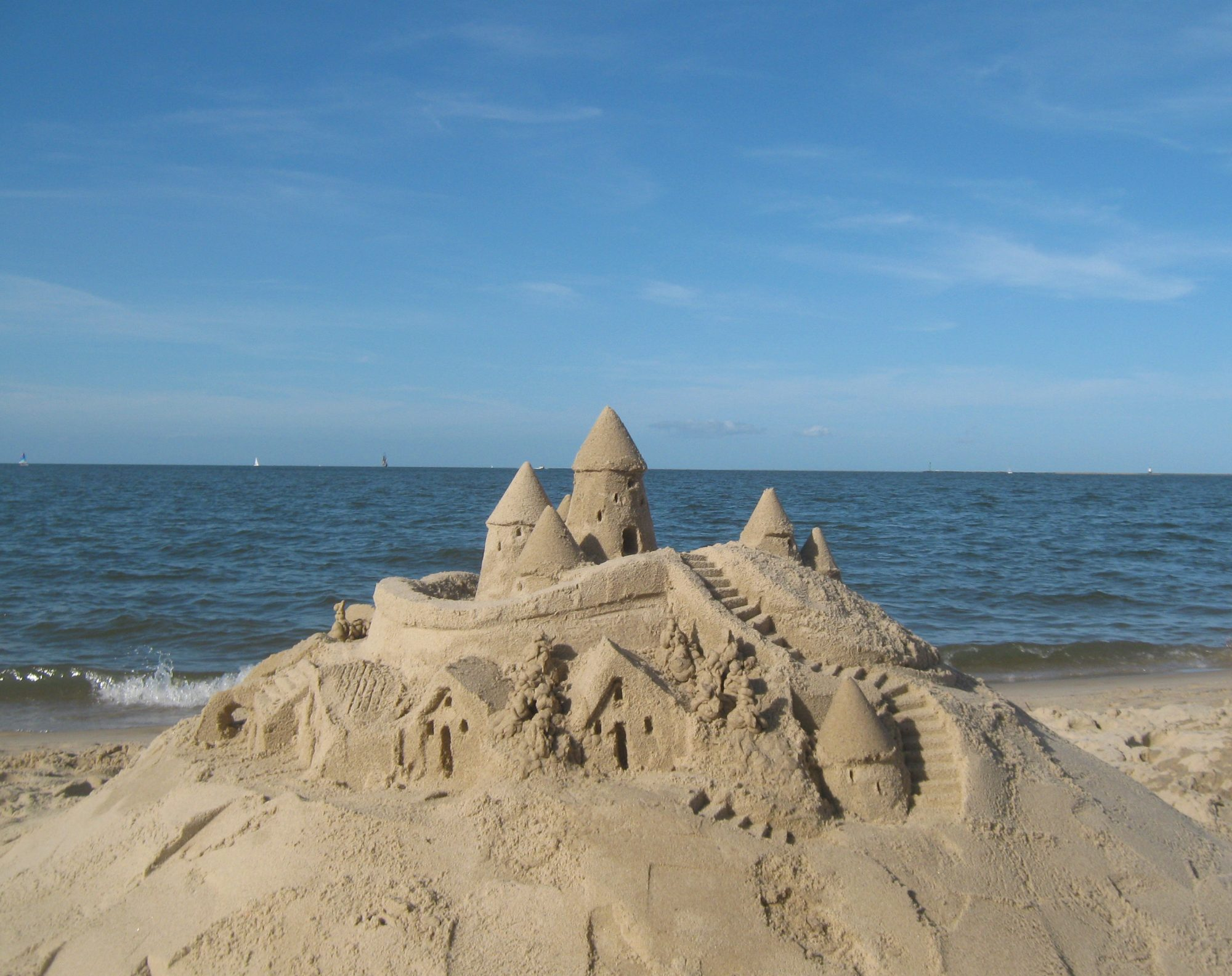 The Sandcastle Lady